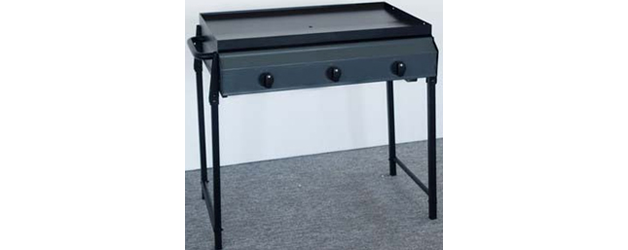 3 Burner Metal Frame Barbeque