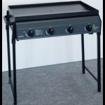 4 Burner Metal Frame Barbeque
